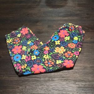 Other - Vintage Flower 🌸 & Heart ❤️ Printed Bottoma